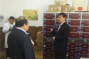 徐州市卫计委领导来我院指导示范中医科建设工作